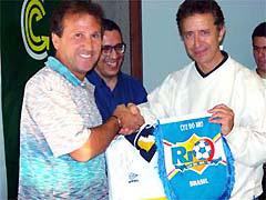 ブラジル ジーコアカデミーにて