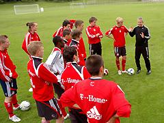バイエルン・ミュンヘンユースチームの指導
